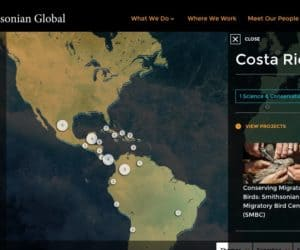 "Smithsonian Global ""Mapped"" to Drupal and CRM"