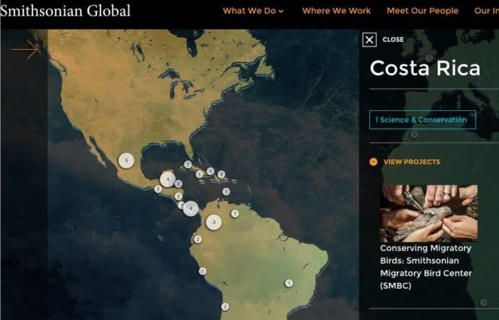 Smithsonian Global Mapped to Drupal and CRM