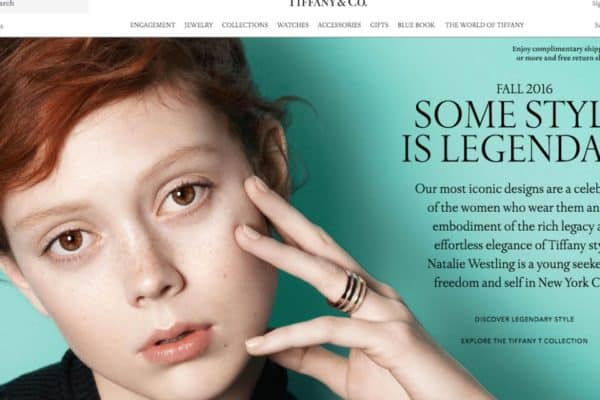 Global Digital Commerce for Tiffany & Co.