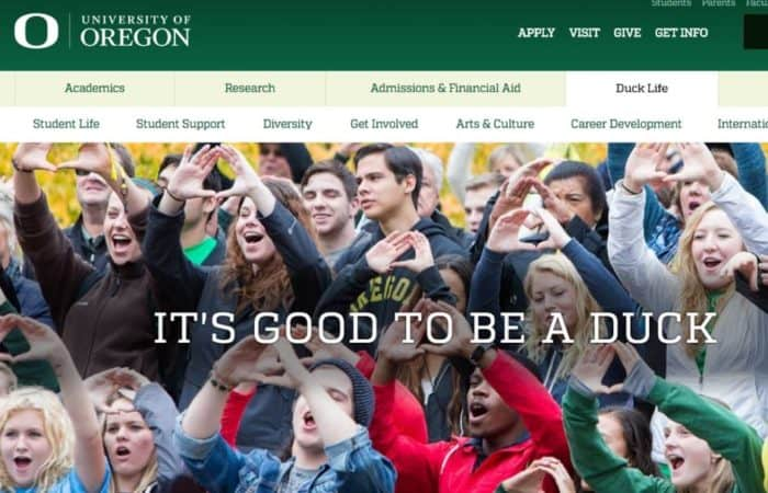 University of Oregon Goes Enterprise Drupal