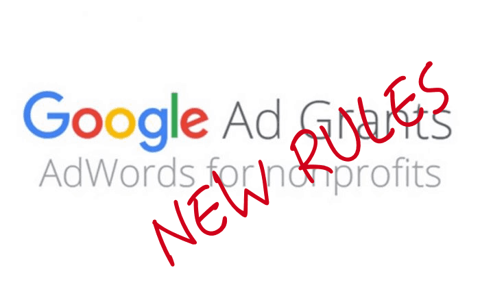 New Google Ad Grants Rules