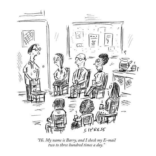 """[Click """"enable images"""" to see this new yorker cartoon about email]"""